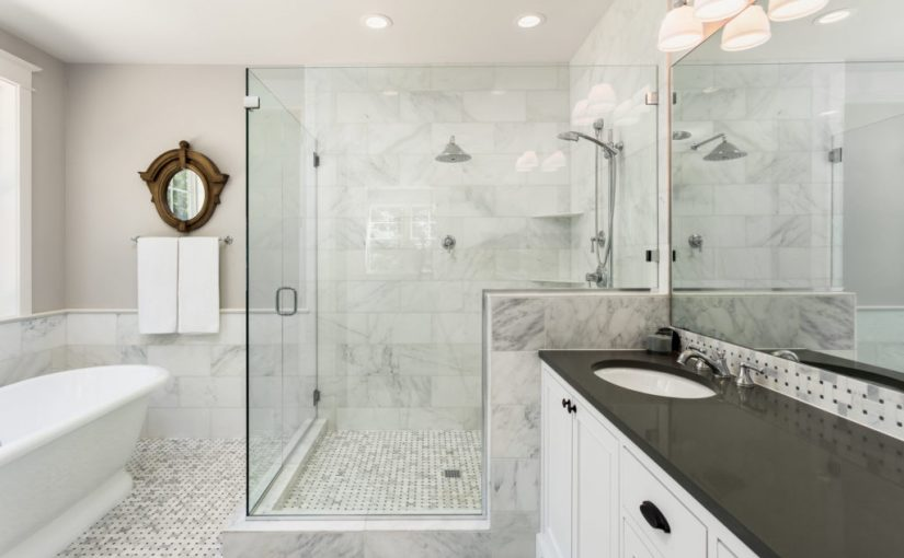 En utförd badrumsrenovering